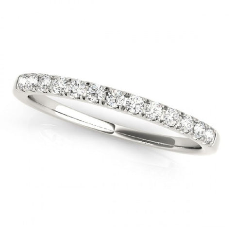 0.50ctTW 14kt White Gold Diamond Anniversary Bands