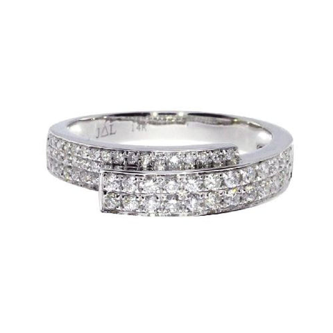 14kt White Gold Fashion Diamond Ring 0.49ct
