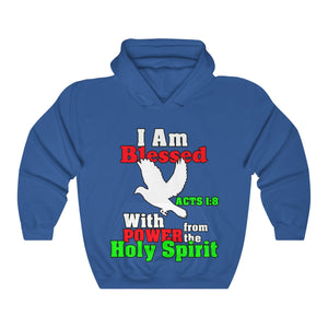 I Am Blessed With The Power Of The Holy Spirit Hoodie