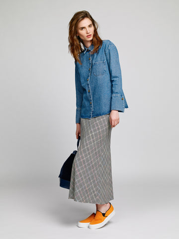 Nanushka - Denim Button Up