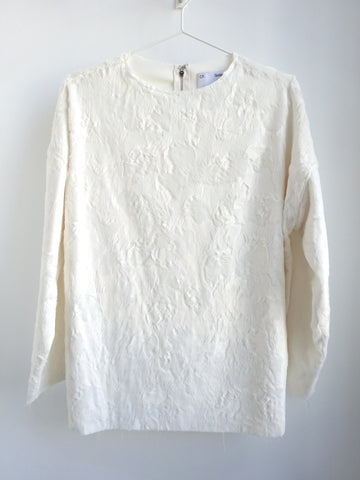 CF. Goldman - Oversized Faux Pony Sweater