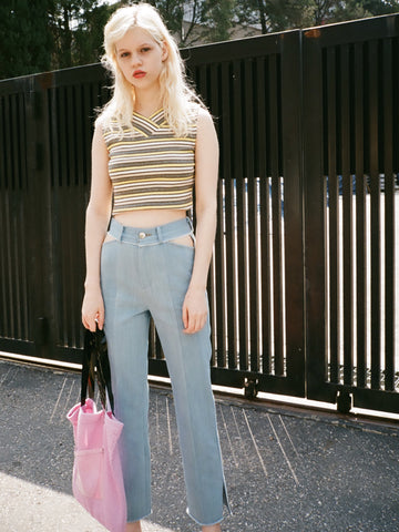 OUOR - Cutout Jeans