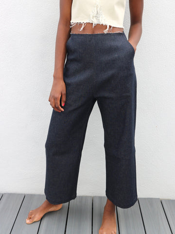 Markoo - The Denim Wide Leg Pant