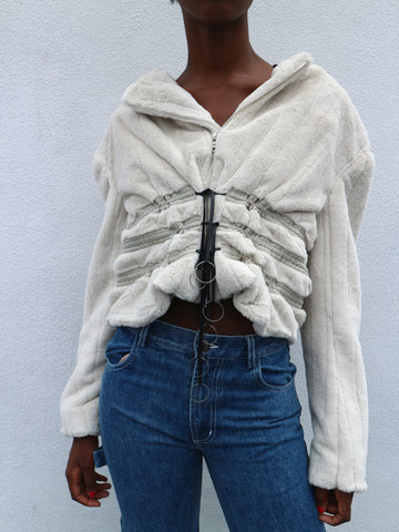 CF. Goldman - Faux Fur Pull Jacket