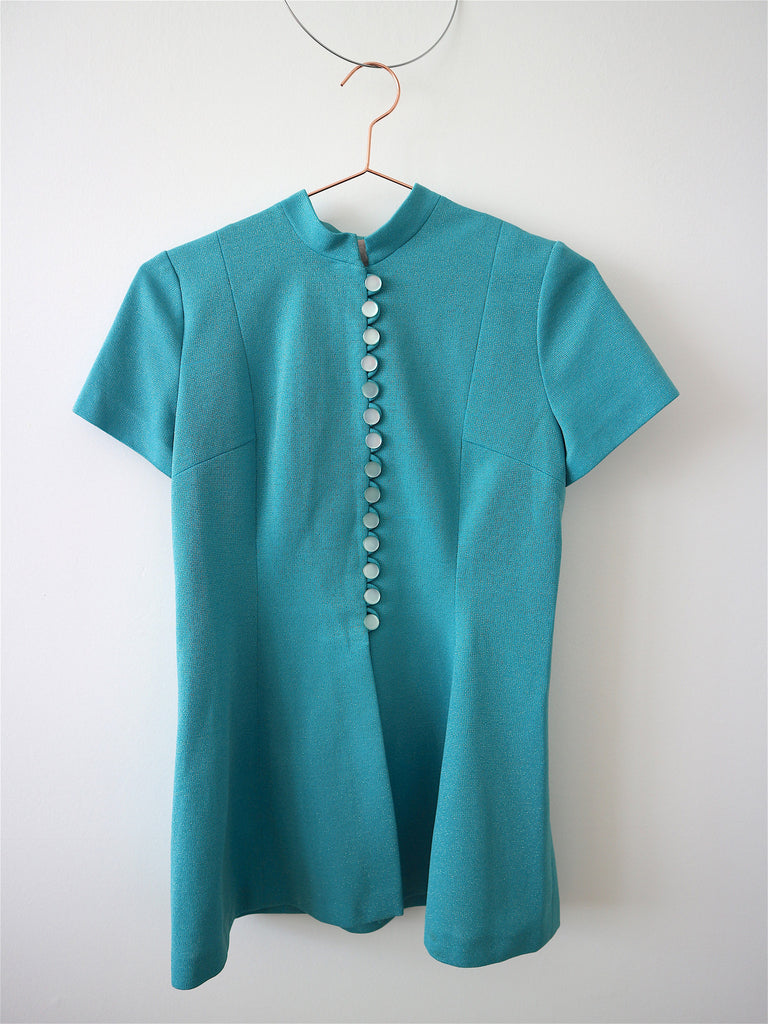 HOH Curate - Vintage 70s Button Top