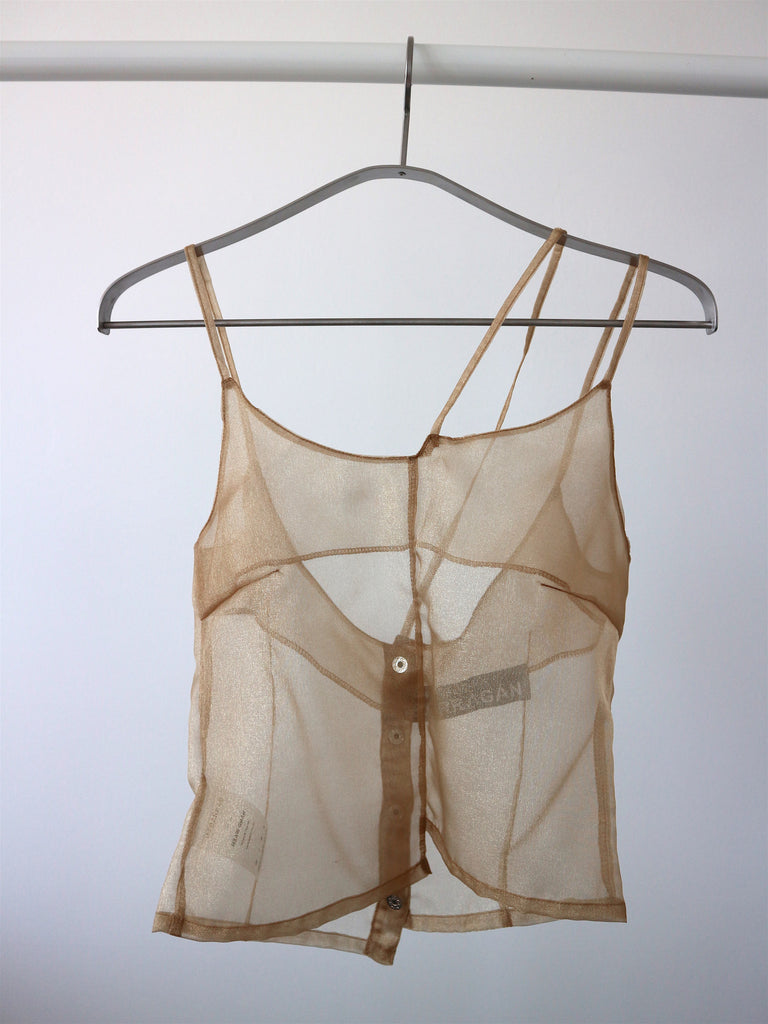 BARRAGÁN - Sheer Sparkle Tank