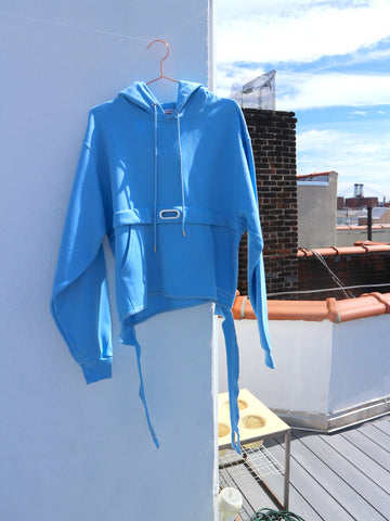 Collina Strada - Light Blue Sweatanork Hoodie