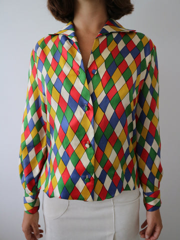 HOH Curate - Vintage 1970s Blouse