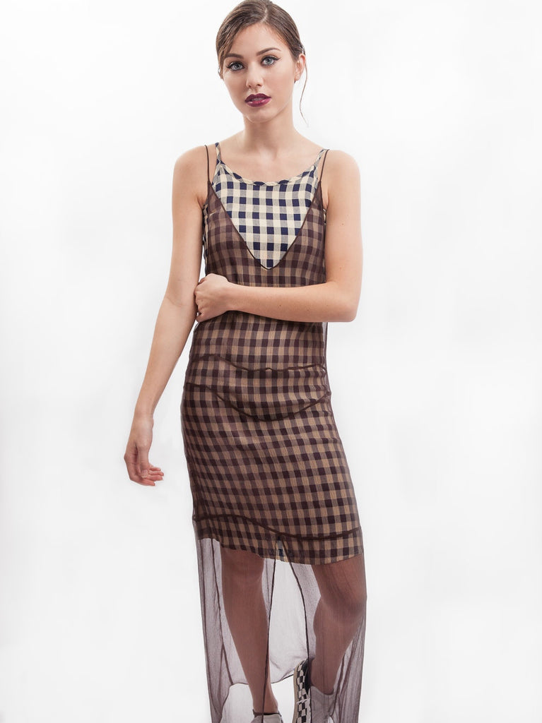 HOH Curate - Vintage Check Dress