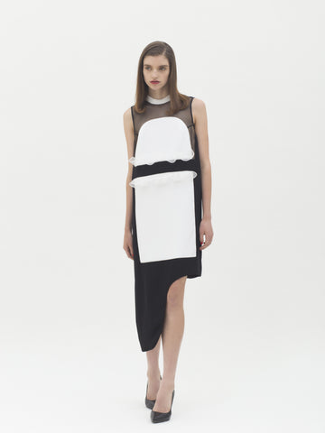 Karla Spetic  - Contrast Dress