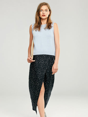 Nanushka - Silk Wrap Skirt