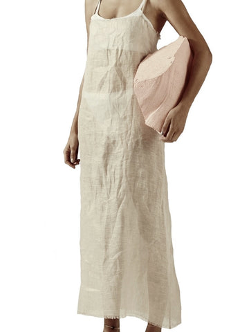 Collina Strada  - El Morro Long Linen Dress