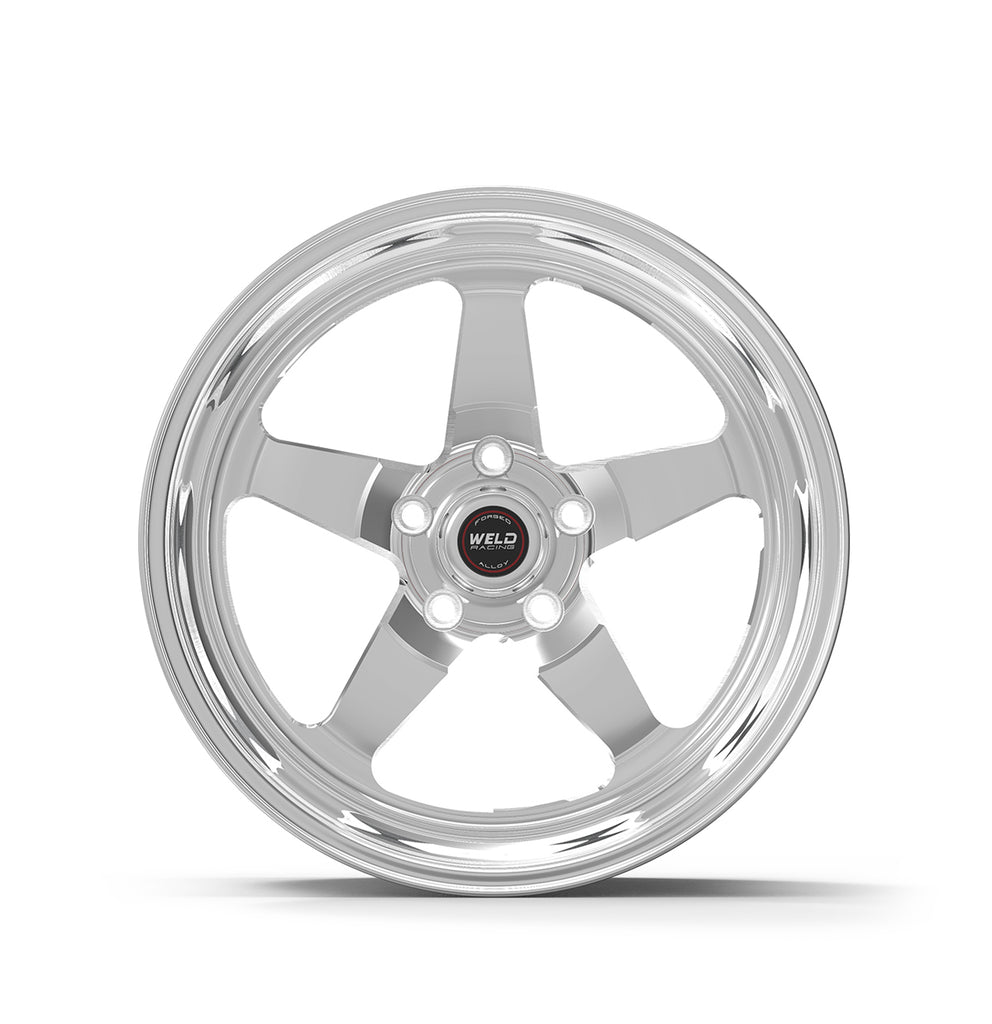 "Weld Wheels RT-S S71 -- 18x9.0 5x4.5 High Pad 6.1"" B/S +28mm -- Polished FRONT for Toyota Supra"