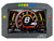 AEM CD-7FLG Carbon Logging & GPS-Enabled Flat Panel Digital Dash Display