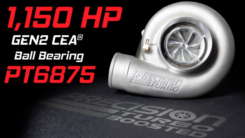 Precision - GEN2 PT6875 CEA - Street and Race Turbocharger