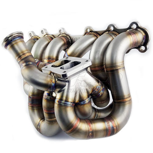 PHR - Powerhouse Racing S45 Equal Length Billet Collector Turbo Manifold for 2JZ-GTE