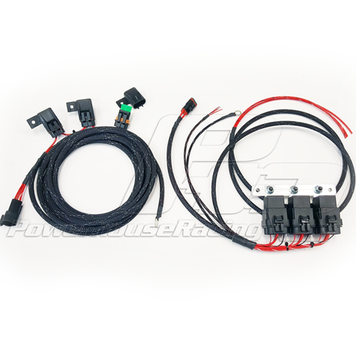 PHR -- Powerhouse Racing Wiring Harness for Dual or Triple Fuel Pump Setup for 1993-1998 Supra