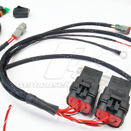 PHR -- Powerhouse Racing Wiring Harness for Dual or Triple Fuel Pump A E Wiring Harness on