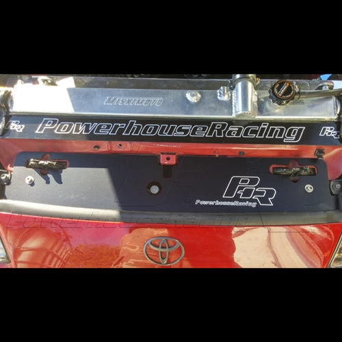 PHR -- Powerhouse Racing Radiator Show Plate for MKIV Toyota Supra