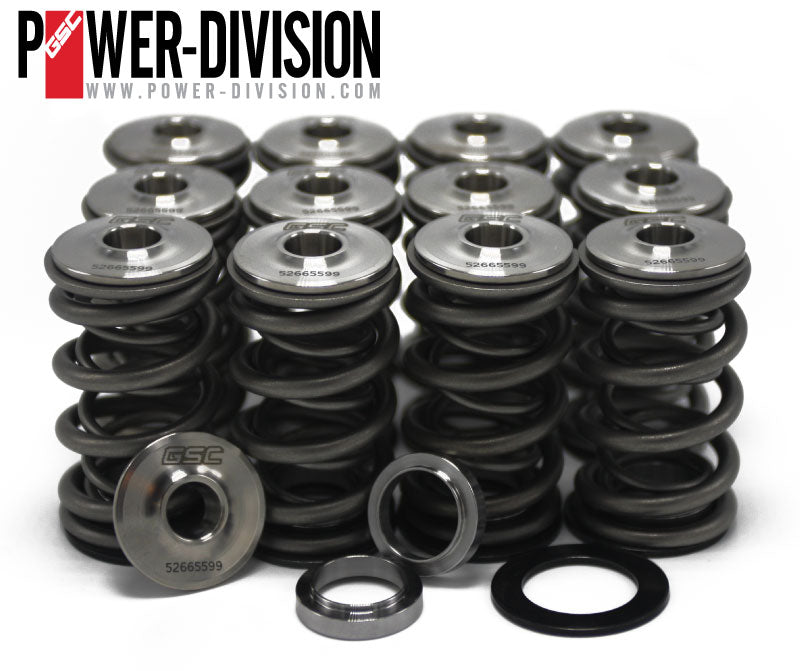 GSC Power-Division Dual Valve Spring Kit with Titanium Retainer for Toyota 2JZ