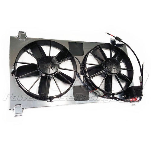 PHR -- Powerhouse Racing Dual Extreme-Duty Spal Fan Kit