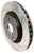 DBA 1993-1998 Toyota Supra Turbo Rear Slotted 4000 Series Rotor 4719S