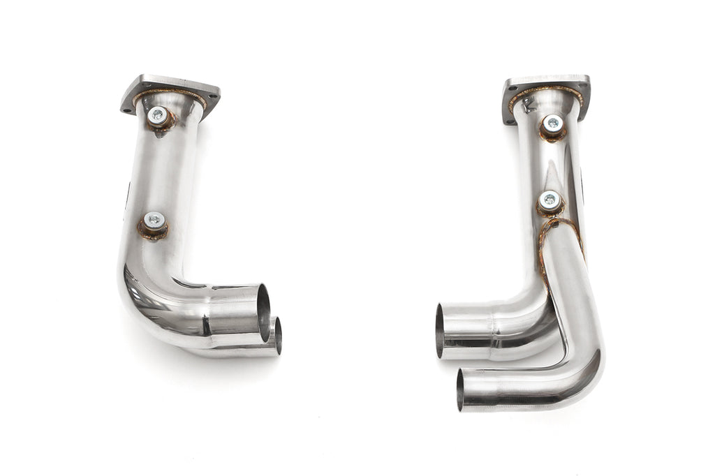 Fabspeed Porsche 991.2 Carrera Cat Bypass Pipes (for PSE)
