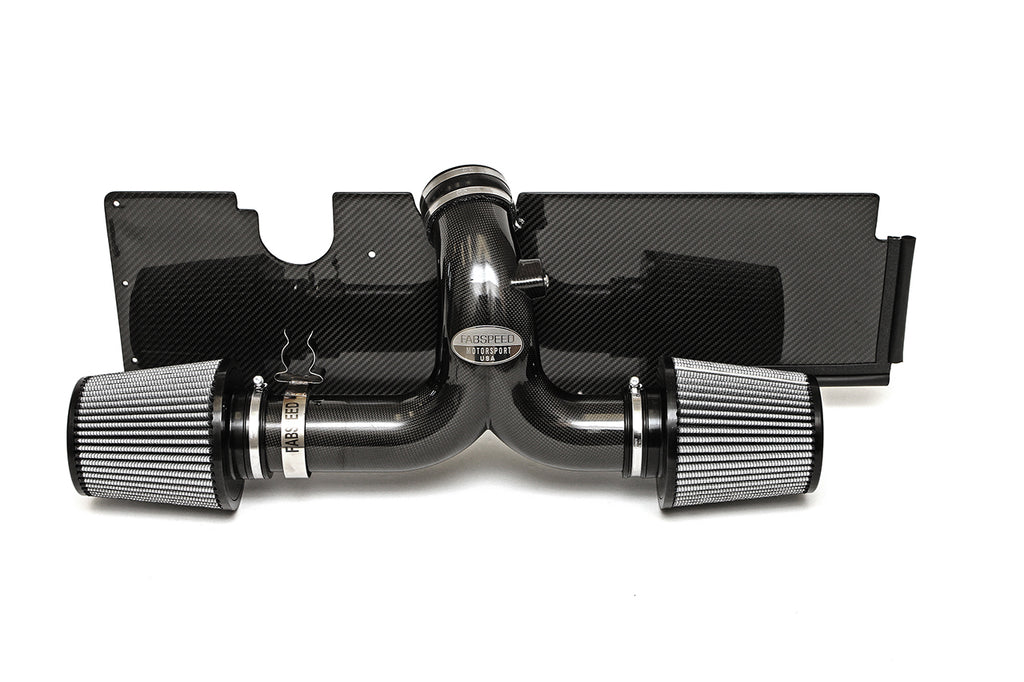 Fabspeed Porsche 997 Carrera Carbon Fiber Competition Air Intake System (2005-2008)