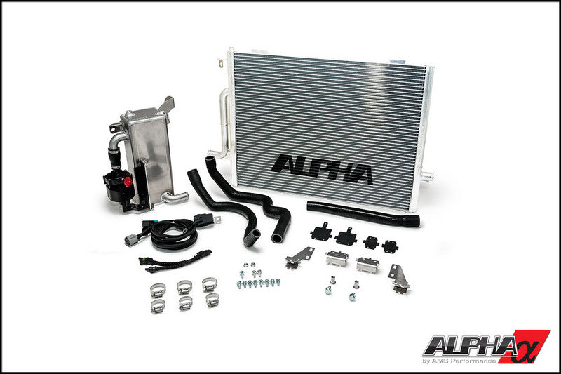 The Alpha Performance Audi B8 Boost Cooler System