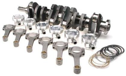 Brian Crower Toyota 2JZGTE/2JZGE Lightweight Stroker Kit - 94mm Stroke Billet Crank BC625+ Rods (5.590) Custom Pistons