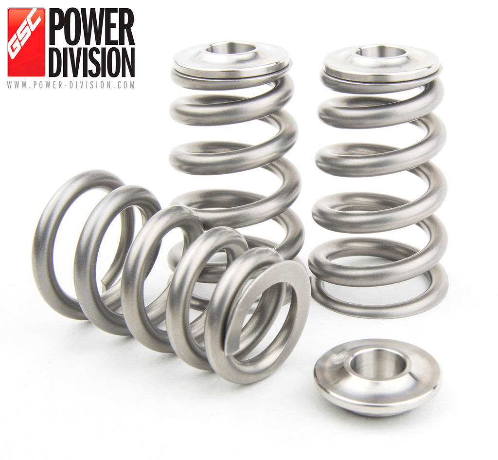 GSC Power-Division CONICAL Valve Spring with Ti Retainer for Toyota 2JZ