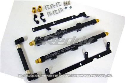 GReddy 09+ Nissan GTR 35 VR38DETT High Flow Fuel Rail Set