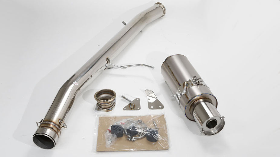 "HKS 4"" Titanium Racing Exhaust for Toyota Supra Turbo 93-98"