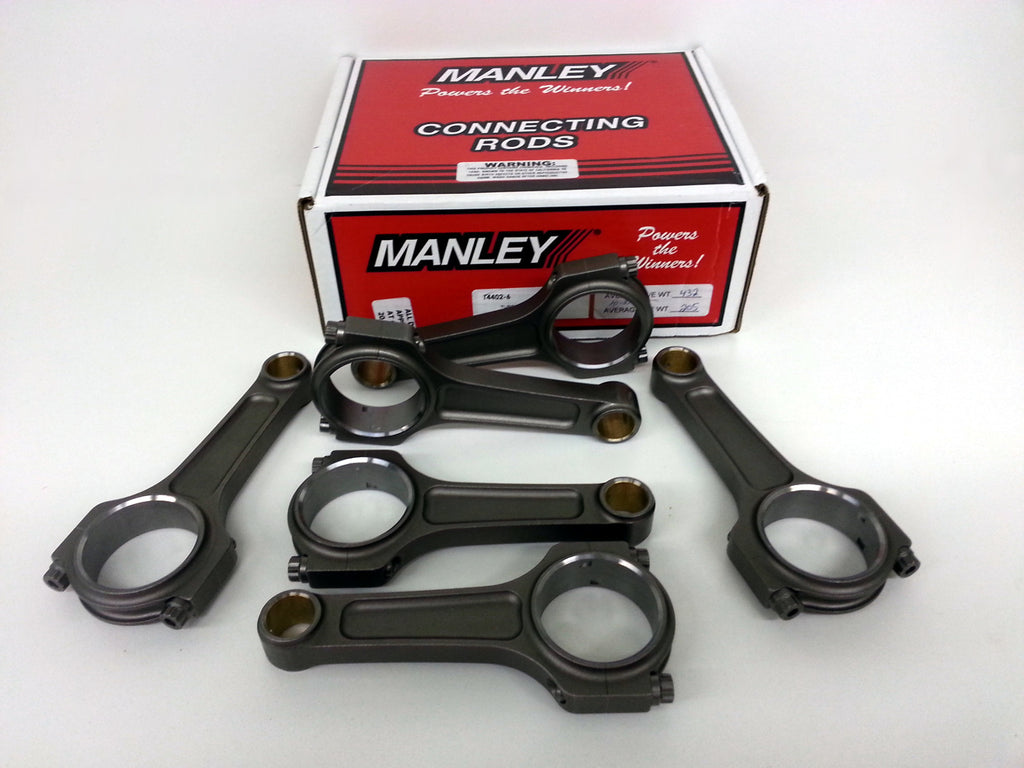 Manley Turbo Tuff 2JZ I Beam Connecting Rods w/ ARP CA625+ Bolts