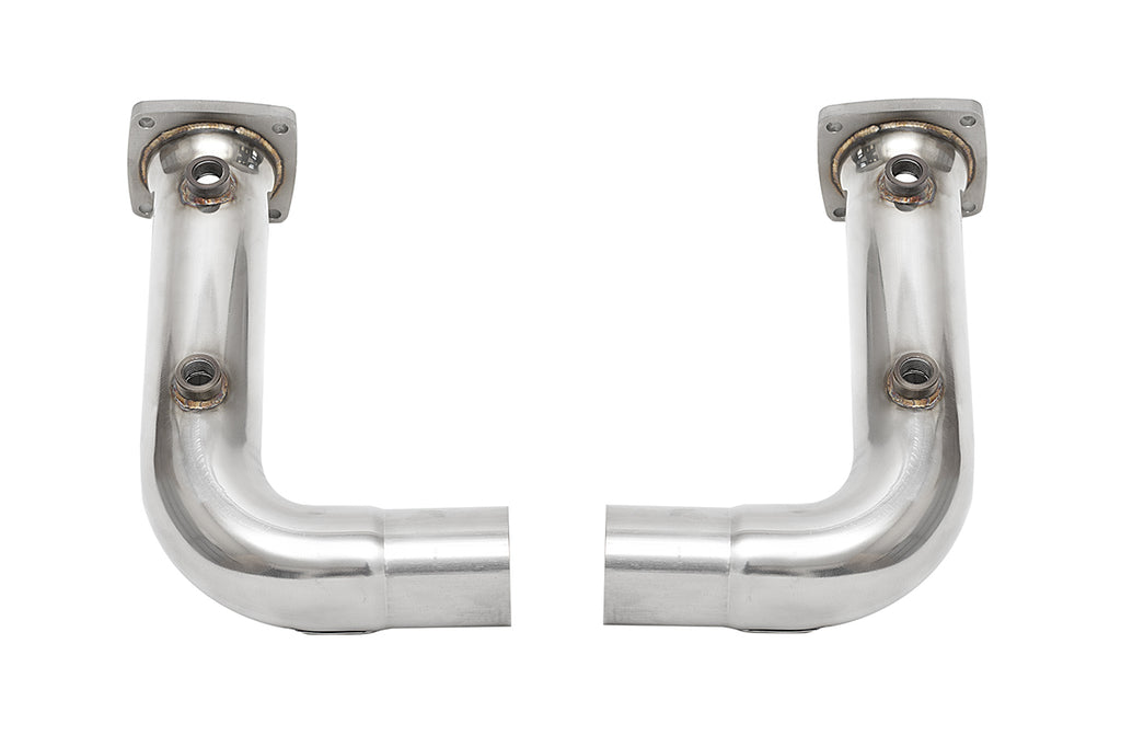 Fabspeed Porsche 991.2 Carrera Cat Bypass Pipes (for Base)