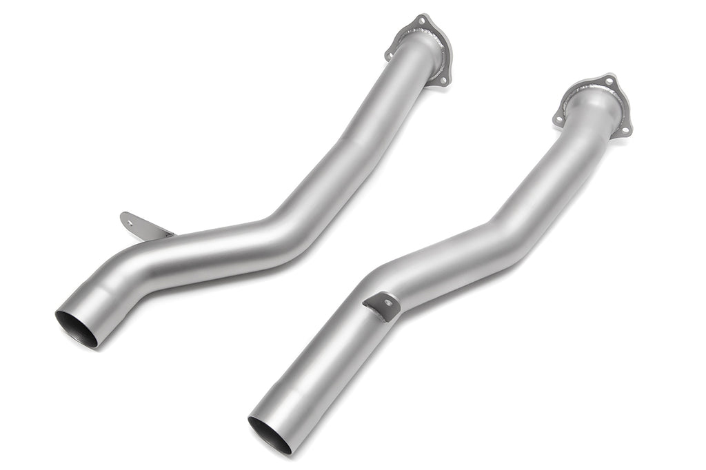 Soul Performance Porsche 958.2 Cayenne Secondary Cat Bypass Pipes