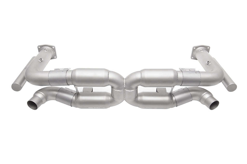 Soul Performance Porsche 996 Turbo Competition X-Pipe Exhaust System