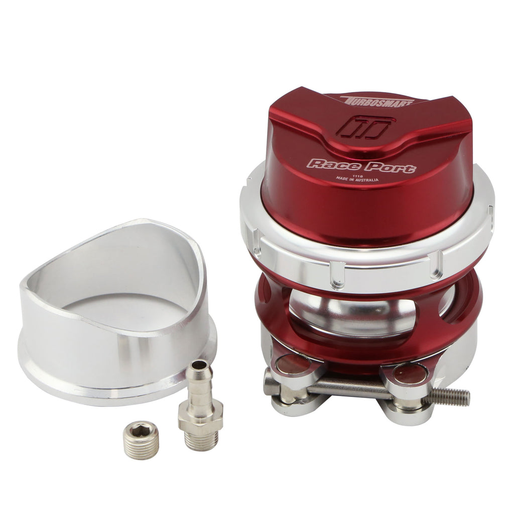 Turbosmart BOV Race Port - Red - Gen V