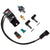 ECUMaster / WHP Boost Control Solenoid Kit - Black Fittings & Bracket