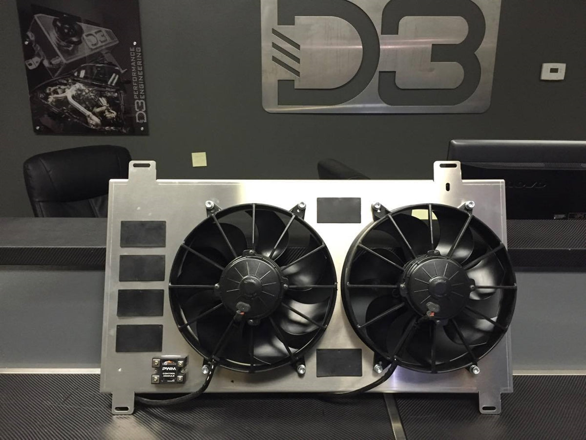 Dual Spal Fans Free Download 1068 Wiring Diagram Induction Performance Prospeed Pwm Fan Kit 11 At
