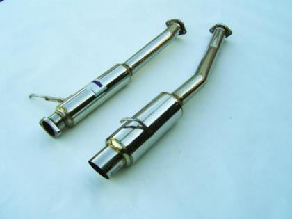 Invidia 93-98 Supra 76mm (101mm tip) N1 Style Cat-back Exhaust