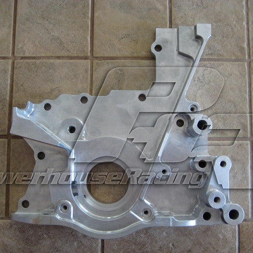 Powerhouse Racing Billet 2JZ Front Oil Pump Cover