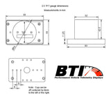 BT Innovations // BTI 2.5 TFT Gauge for AEM Infinity