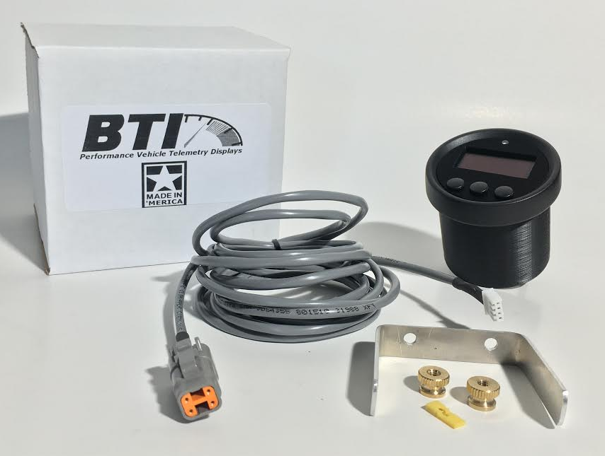 BT Innovations // BTI CAN Gauge (52mm/60mm) for ECUMaster