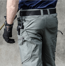 Load image into Gallery viewer, Outdoor Waterproof Quick Dry Stalker Slim Tactical Pants Spring Autumn Training Climbing Breathable Long Cargo Trousers Overalls