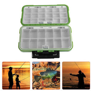Double Layer Fishing Tackle Box