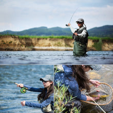 Load image into Gallery viewer, All In One Fly Rod and Fly Reel Combo with Fishing Line and Flies Gift Set