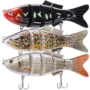 Large Jointed Hard Lures For Large Fish