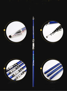 Powerful Telescopic Surf Spinning Rod