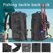 Load image into Gallery viewer, Multi-functional Fishing Tackle Backpack